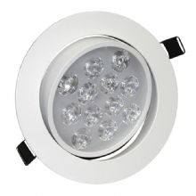 12W Angle Adjustment Recessed Spotlight LED Ceiling Downlight